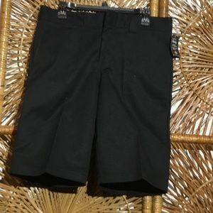 Dickies Men Shorts Black Size 32